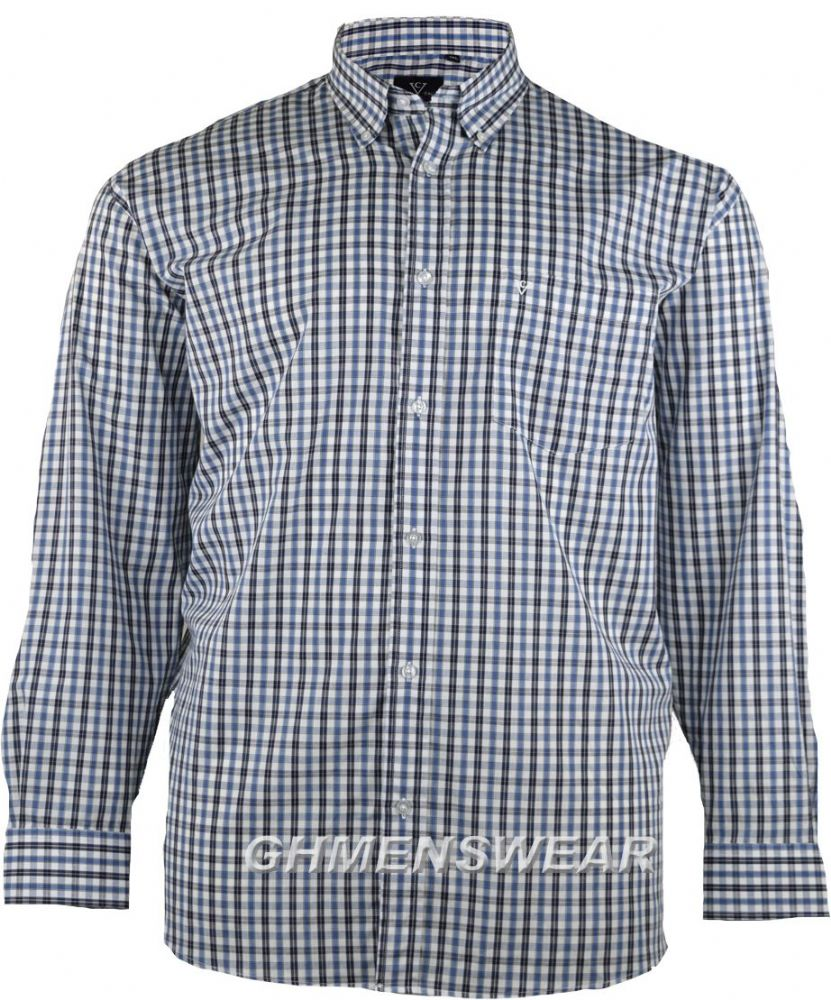 cotton valley check Fashion Shirt 2XL 3XL 4XL 5XL 6XL